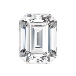 4.93ct Emerald Moissanite Forever One DEF - 11.0x9.0mm