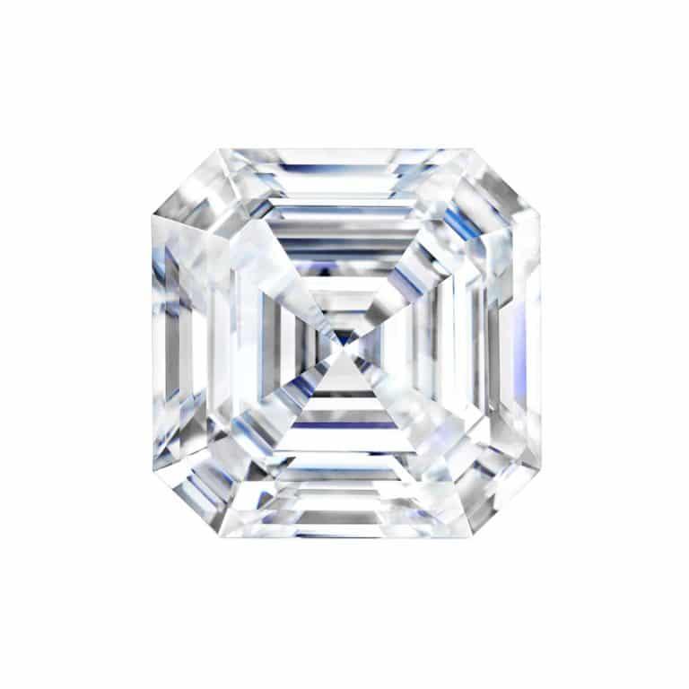 3.12ct Asscher Lab Ground Diamond I/VS2