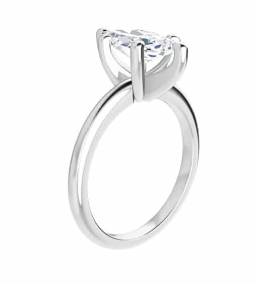 Marquise Moissanite Solitaire Ring - 1.00tcw - 2.80tcw