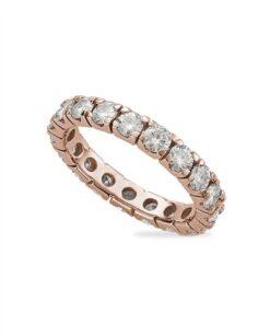 Round Moissanite Eternity Wedding Band Ring - 1.56tcw - 8.00tcw