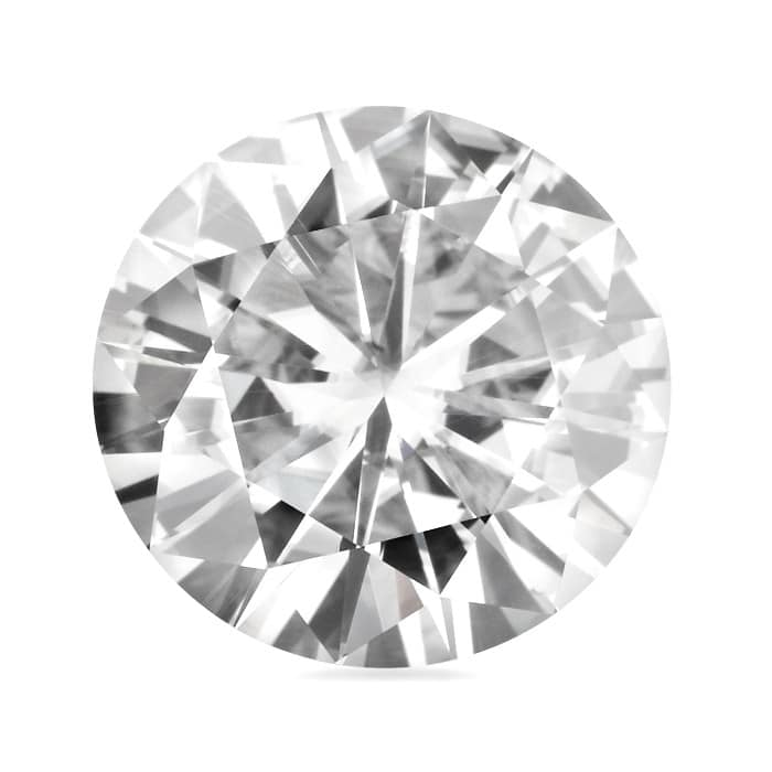 Round Moissanite Forever ONE - 0.06tcw - 6.13tcw