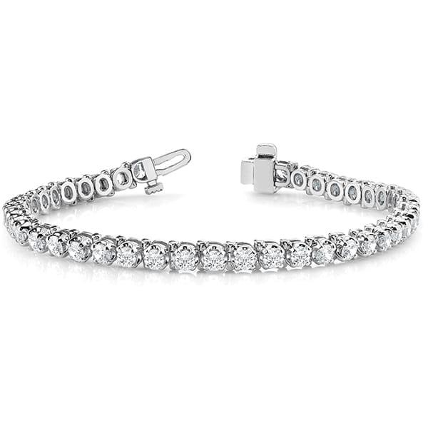 Round Moissanite Tennis Bracelet - 1.65tcw - 13.50tcw