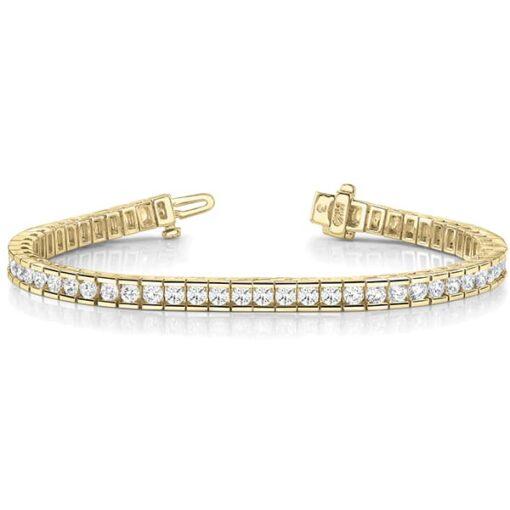 Round Moissanite Tennis Bracelet - 3.85tcw - 9.66tcw