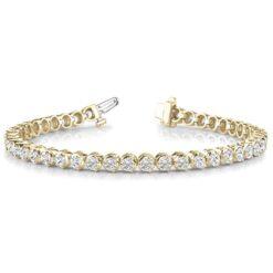 Round Moissanite Tennis Bracelet - 1.92tcw - 14.50tcw