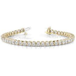 Round Moissanite Tennis Bracelet - 1.90tcw - 15.00tcw