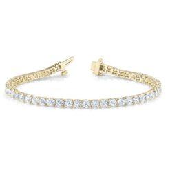 Round Moissanite Tennis Bracelet - 3.90tcw - 14.04tcw