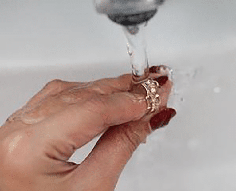 Rinse Your Jewelry