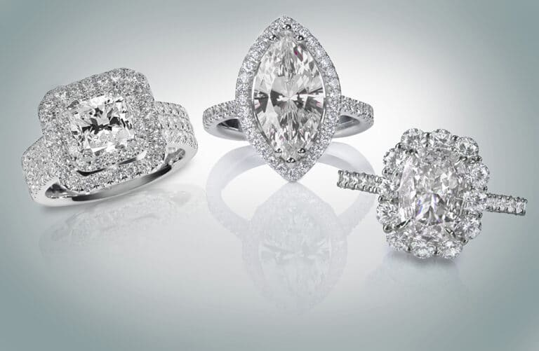 Halo Engagement Rings Collection
