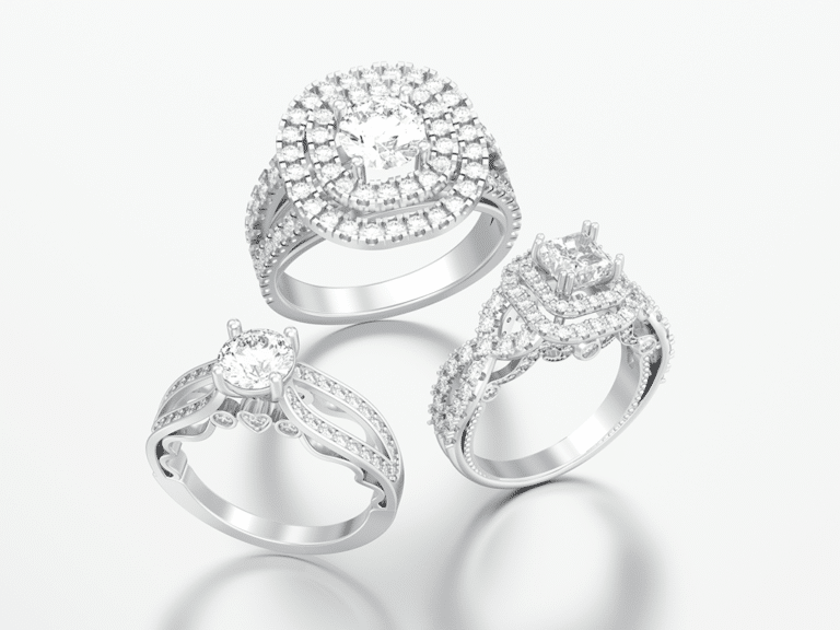 Side Stone Engagement Rings Collection