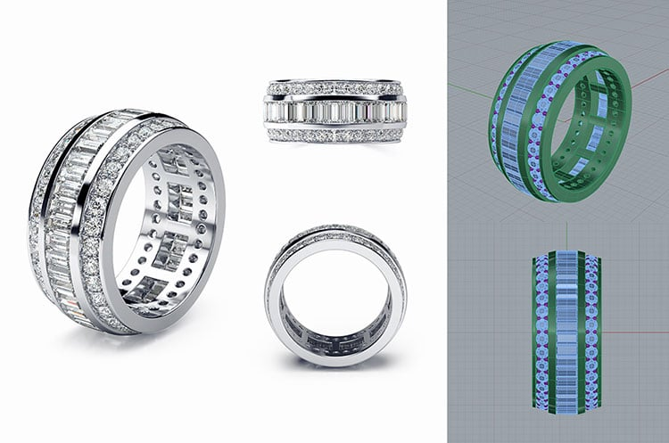 Eternity Ring Creation