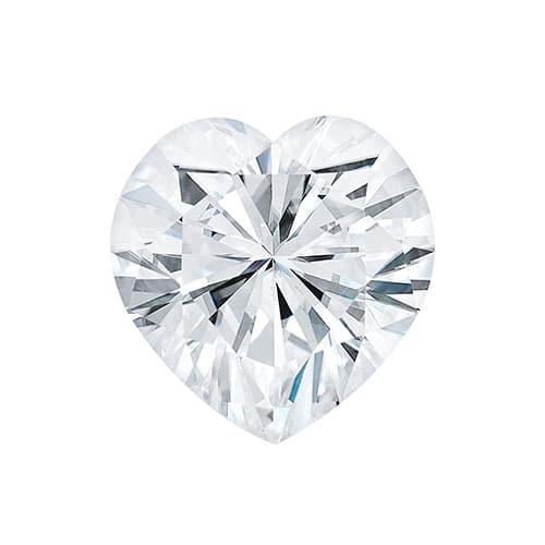 2.02ct Heart Lab Gown Diamond - D/VVS2