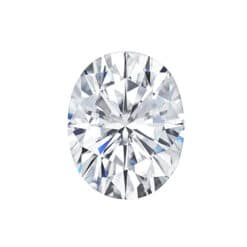 3.06ct Oval Lab Grown Diamond - D/VS1
