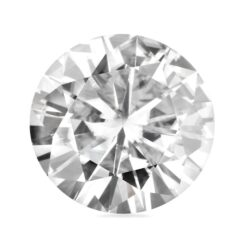 6.13ct Round Moissanite Forever One GHI - 12.0mm