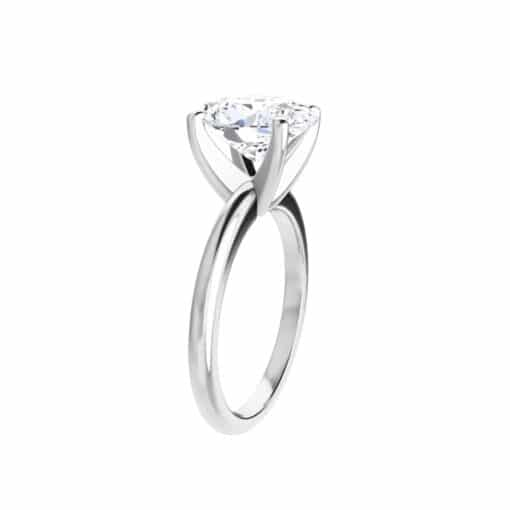 Oval Moissanite Classic Solitaire Ring - 0.90ct - 5.80ct