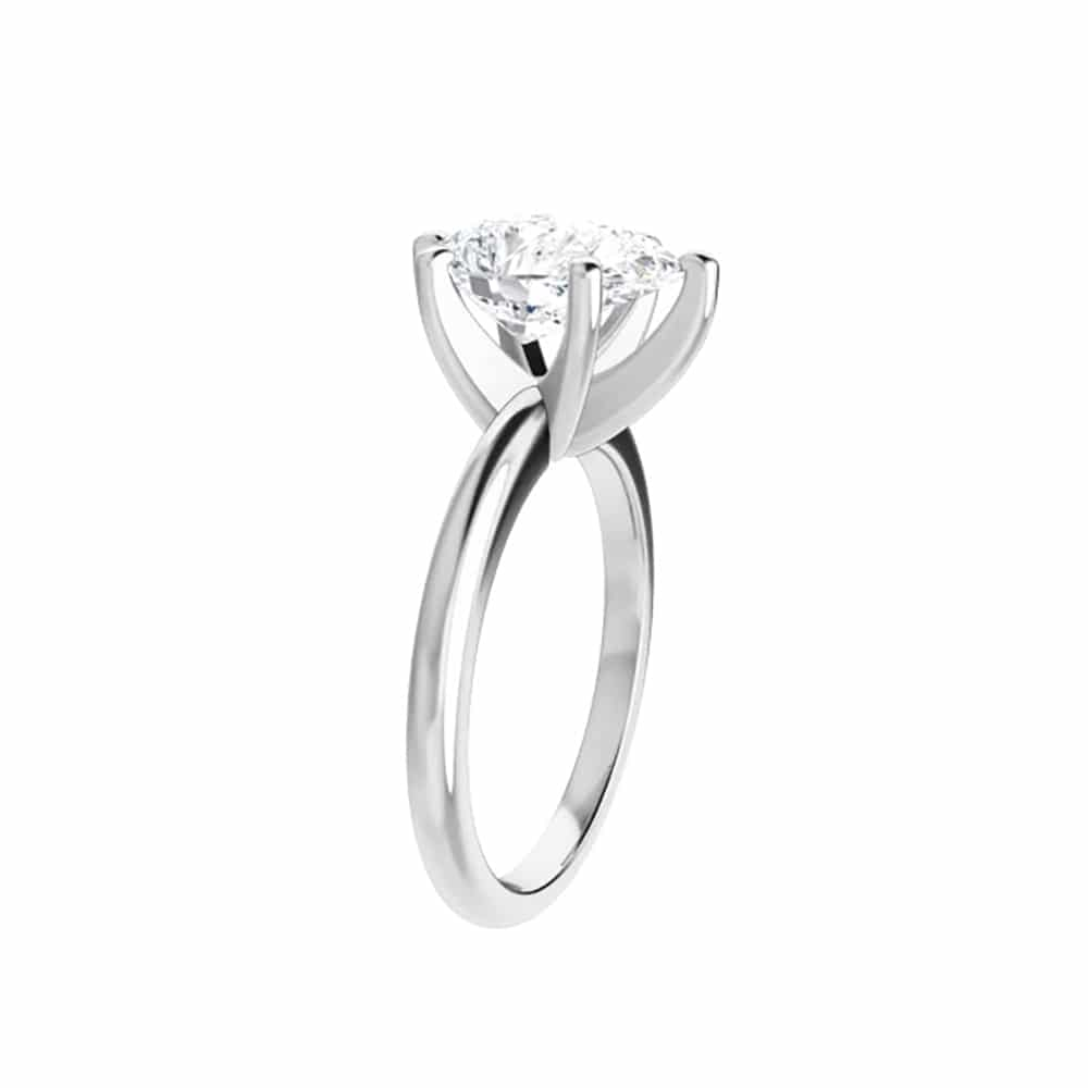 Pear Moissanite Classic Solitaire Ring - 0.94ct - 2.10ct