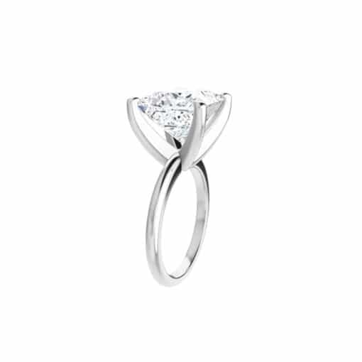 Square Moissanite Classic Solitaire Ring - 1.05tcw - 5.97tcw