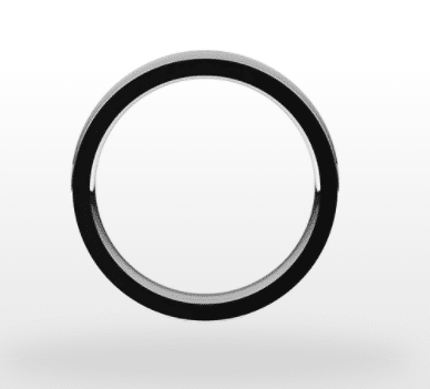 Classic Wedding Ring, Concave Profile, 4mm Width