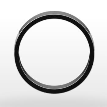Classic Wedding Ring, Flat Profile, 6mm Width