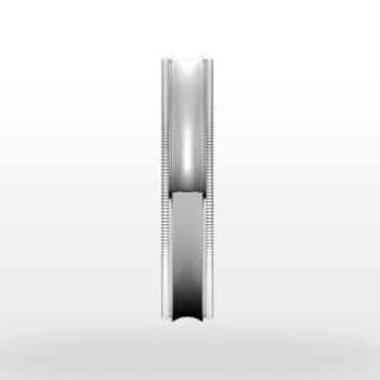 Unique Milgrain Wedding Ring, Concave Profile, 4mm Width